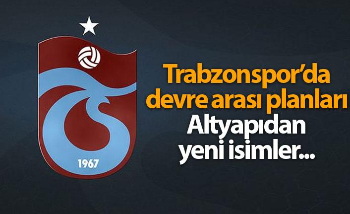 Trabzonspor'da devre arası planları