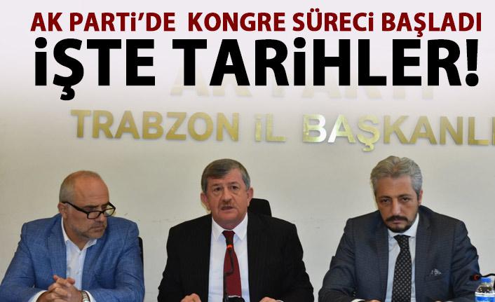AK Parti'de kongre süreci başladı! İşte tarihler!