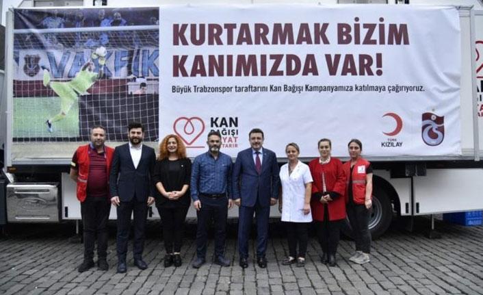 """""""Kurtarmak Bizim Kanımızda Var"""" kampanyası devam ediyor"""