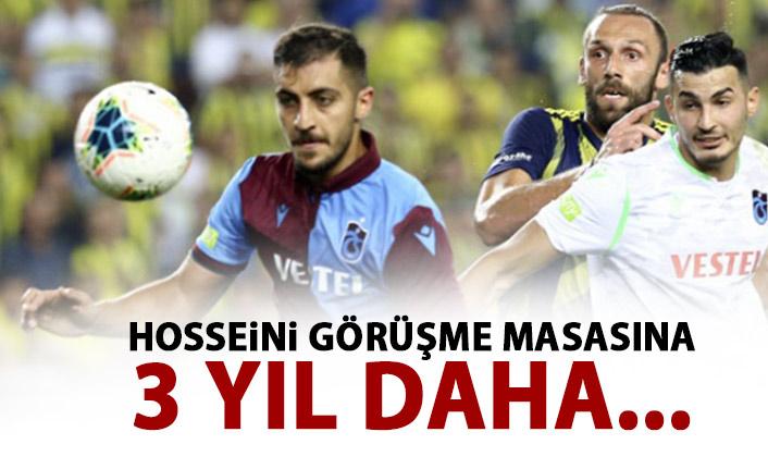 Trabzonspor'da flaş Hosseini gelişmesi!