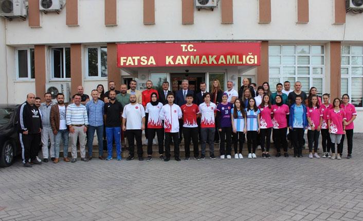 Fatsa'da Amatör Spor Haftası etkinlikleri
