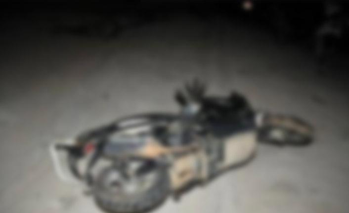 Kullandığı motosiklet yoldan çıktı! Hayatını kaybetti!