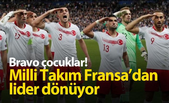 Alkışlar Miili Takıma! Türkiye Fransa'dan puanı kopardı