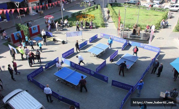 Amatör Spor Haftası Trabzon'da kutlandı