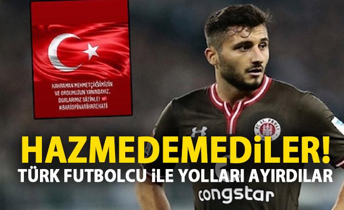 Mehmetciğe desteği hazmedemedi! Alman kulübü Türk futbolcu ile yolları ayırdı