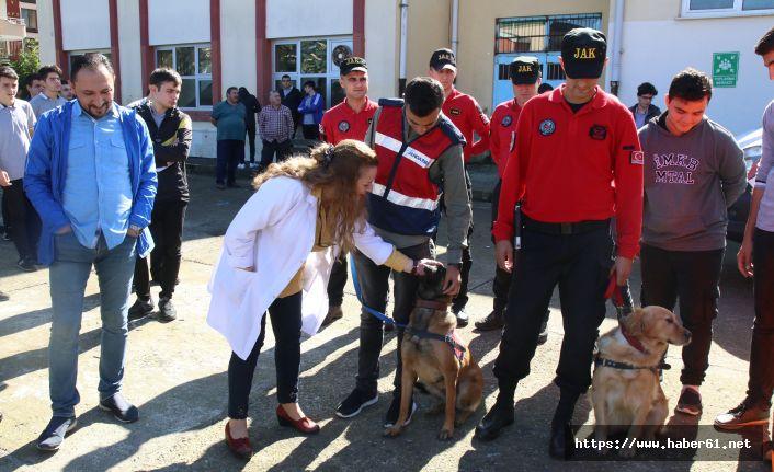 Rize'de deprem tatbikatı