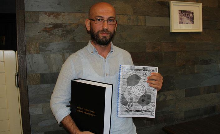 Rizespor'un tarihini kitaba döktü!