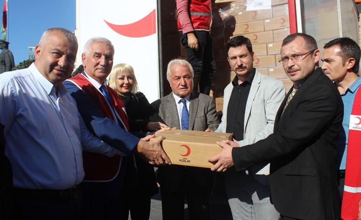 Türk Kızılayı'dan ihtiyaç sahiplerine 3 ton kavurma