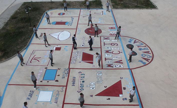 Bayburt'ta öğrencilere matematiği sevdiren uygulama