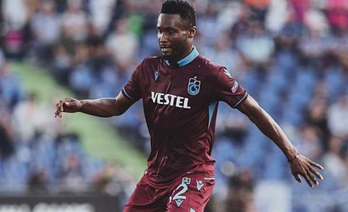 Trabzonspor'dan Mikel açıklaması: Durumu şüpheli!