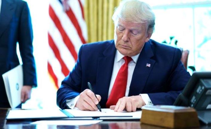 Trump, Türkiye'ye yönelik yaptırım listesini imzaladı