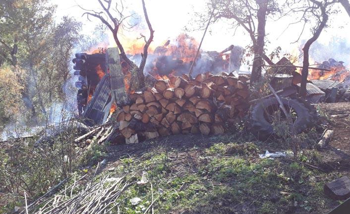 Acı Olay - Defnedildiği gün evi yandı