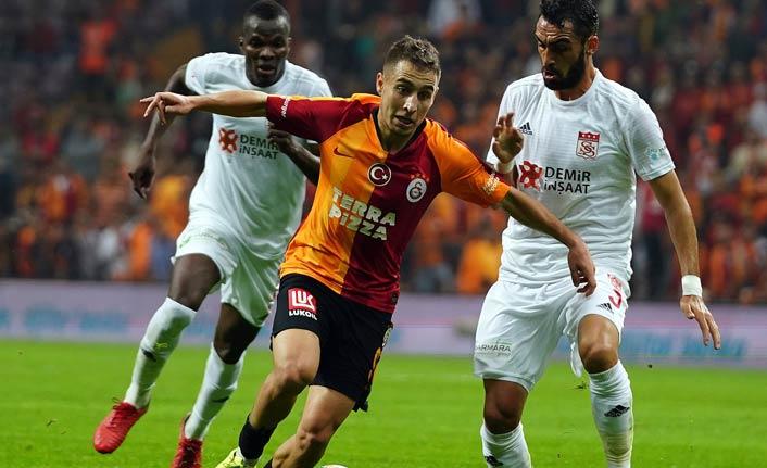 Galatasaray Sivas'ı geçti