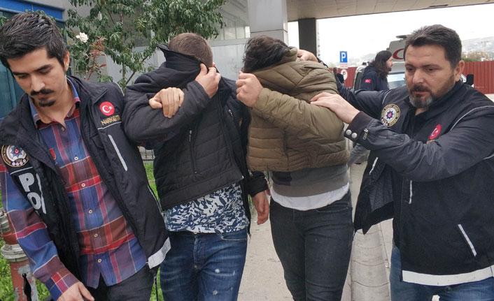 Samsun'da uyuşturucu ticaretinden 9 kişi adliyede