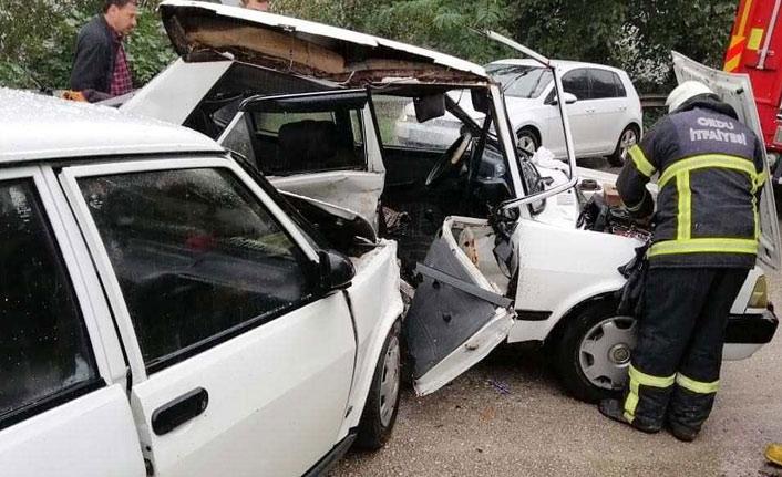 Ordu'da kaza: 1 ölü 2 yaralı