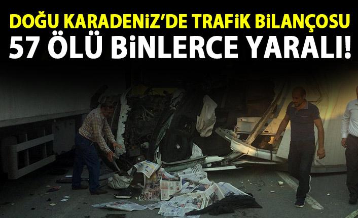 Doğu Karadeniz'de korkunç bilanço! 9 Ayda 57 kişi öldü!