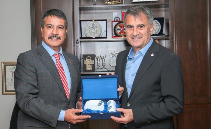 Güneş'ten Trabzon Emniyet Müdürü Alper'e ziyaret