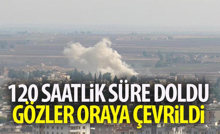 YPG'ye verilen 120 saatlik süre doldu