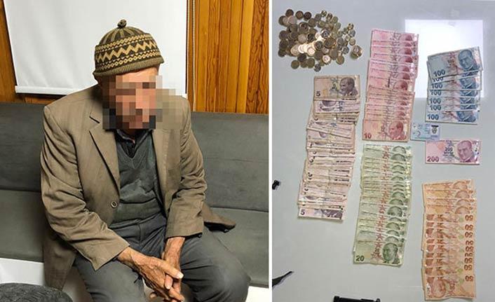91 yaşındaki dilencinin üzerinden bakın kaç para çıktı