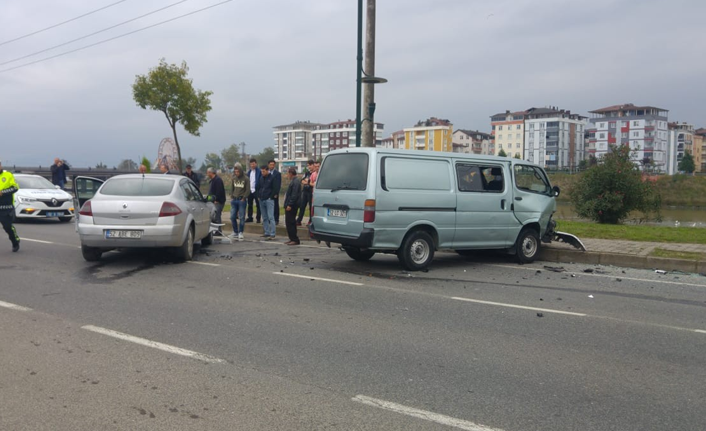 Fatsa'da trafik kazası