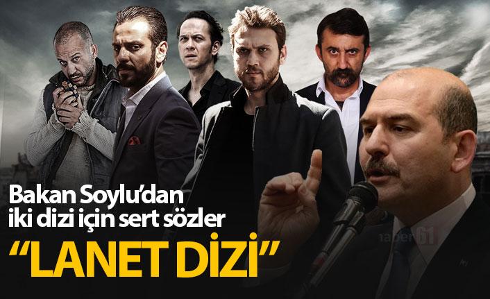 Bakan Soylu'dan Çukur ve Adana Sıfır Bir tepkisi!