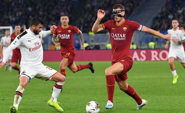 Roma, Milan'ı 2-1 yendi.