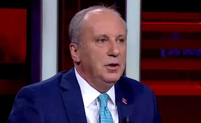 Muharrem İnce'den CHP yönetimine tepki