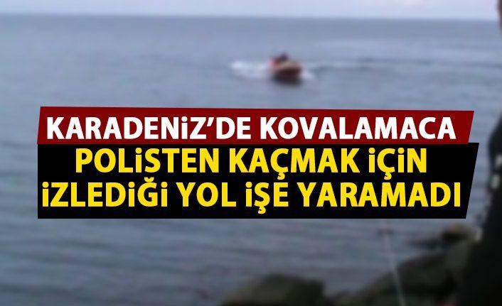 12 ayrı suçtan aranıyordu! Denizin ortasında yakalandı!