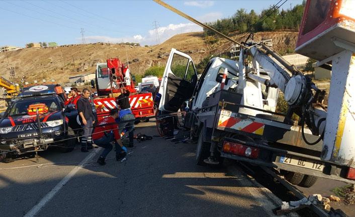Siirt'te trafik kazası