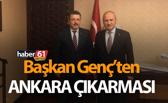 Başkan Genç'ten Ankara çıkarması