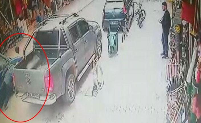 Bursa'daki kazada o anlar saniye saniye görüntülendi