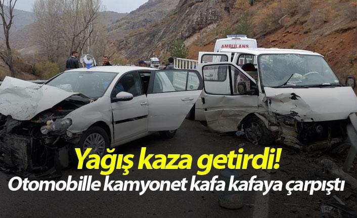 Gümüşhane'de feci kaza: 9 yaralı