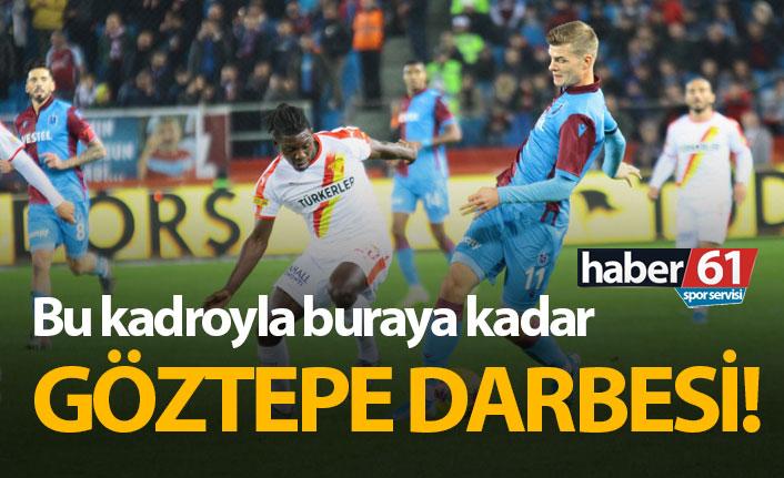 Trabzonspor Göztepe'ye yenildi!