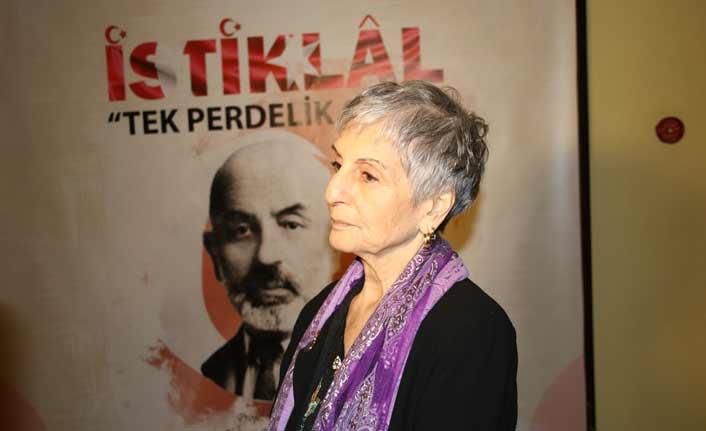 """Mehmet Akif Ersoy'un torunu Selma Argon: """"Onun torunu olmak çok güzel bir şey ve onur vericidir"""""""