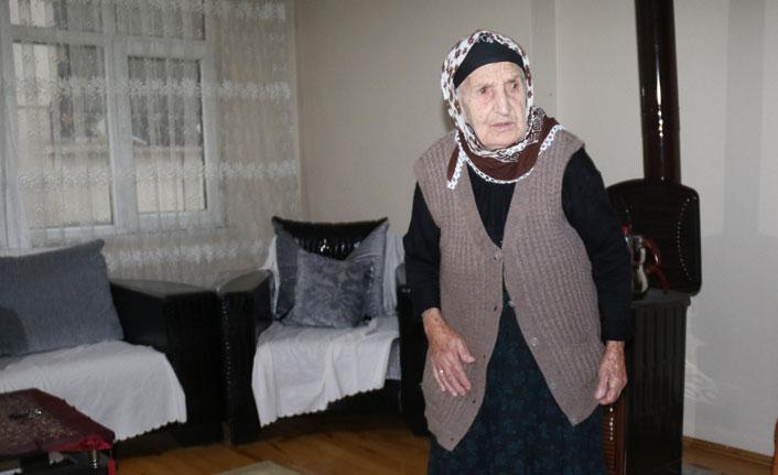107 yaşındaki Emine nineden uzun yaşam formülü