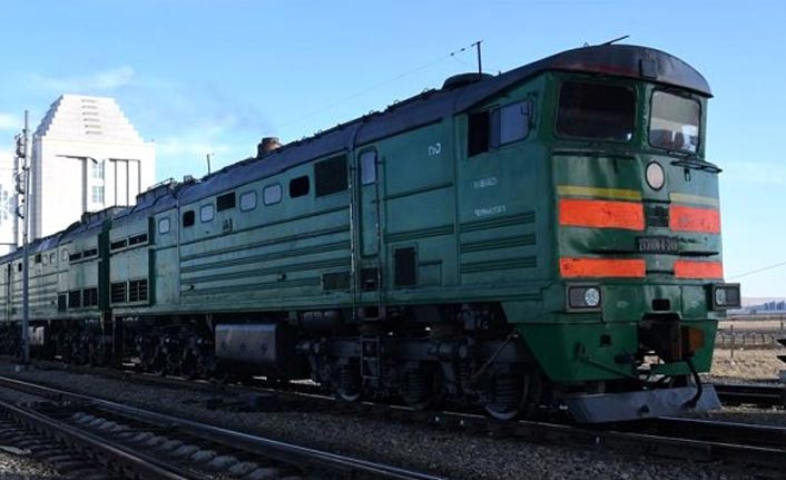 Çin'den Avrupa'ya giden tren Ankara'ya ulaştı