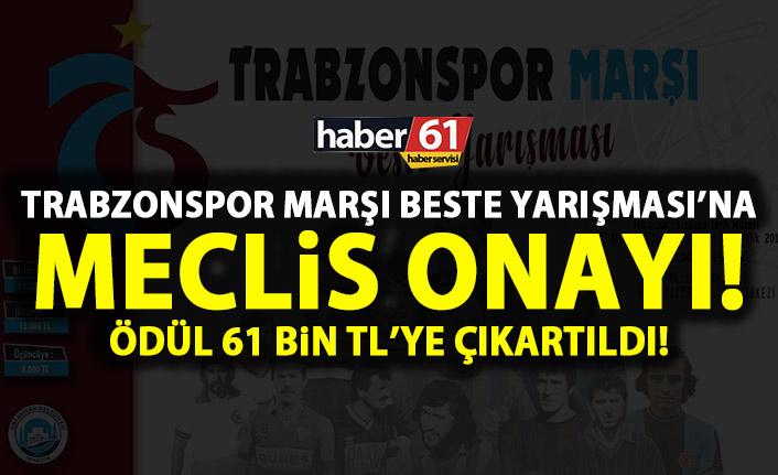 Trabzonspor Marşı Beste Yarışması meclisten onay aldı!