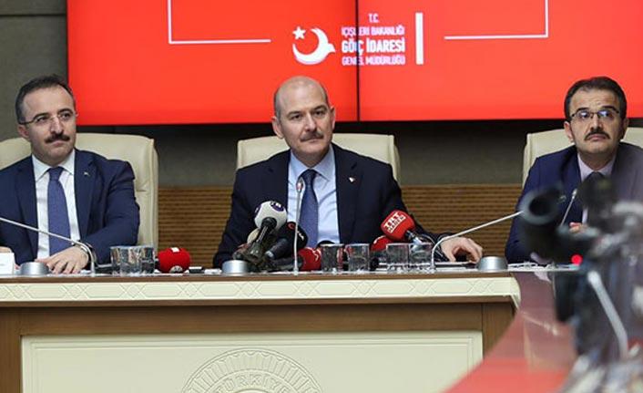 Bakan Soylu son rakamı açıkladı! İşte Türkiye'deki yabancı sayısı