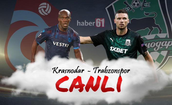 Krasnodar - Trabzonspor | CANLI