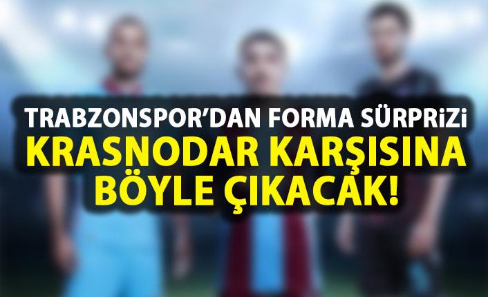 Trabzonspor'da forma sürprizi! Krasnodar karşısına böyle çıkacak