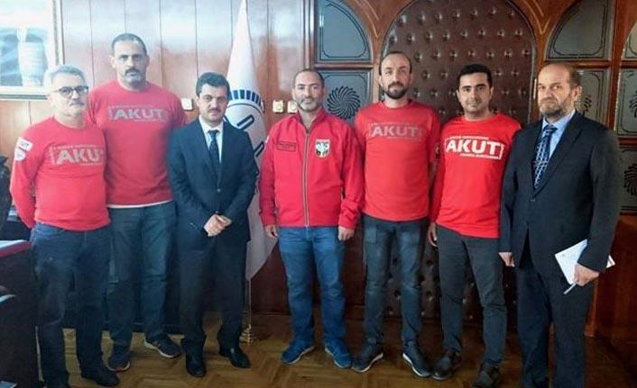 AKUT Trabzon Ekibinden işbirliği ziyaretleri