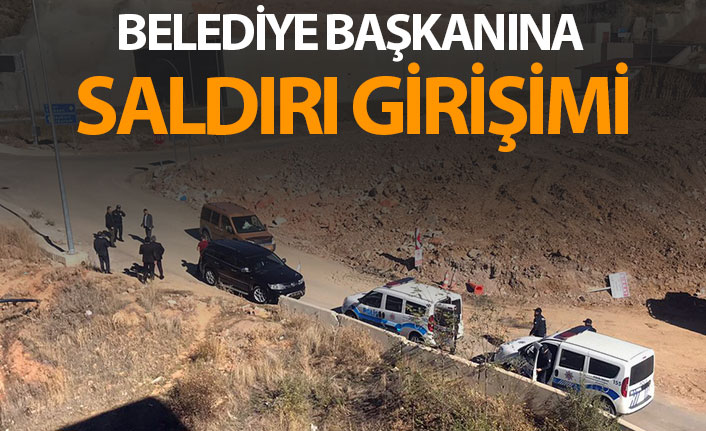 Gümüşhane'de belediye başkanına saldırı girişimi