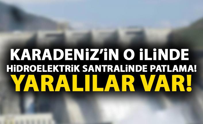 Karadeniz'de Hidroelektrik santralinde patlama!