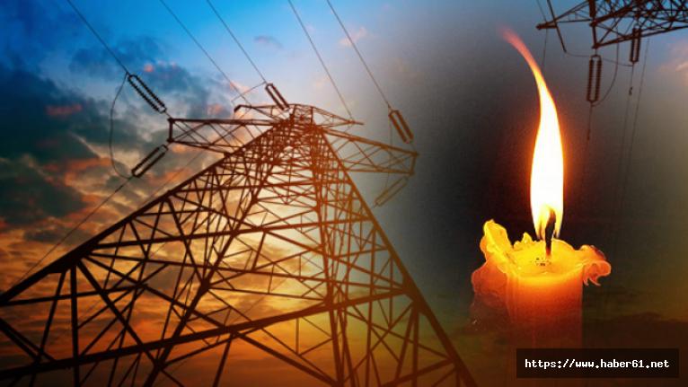 Trabzon merkezinde elektrik kesintisi! Elektrikler ne zaman gelecek?