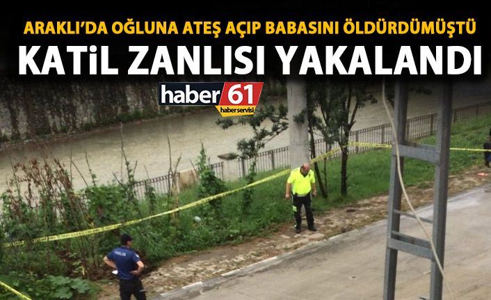 Trabzon'daki cinayetin zanlısı yakalandı