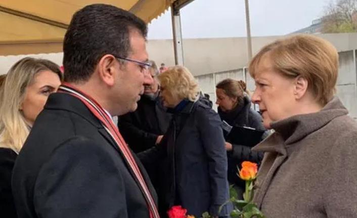 İmamoğlu'ndan Merkel'e davet!