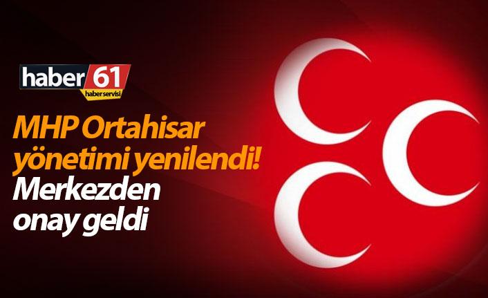 MHP'nin Ortahisar ilçe yönetimi belli oldu!