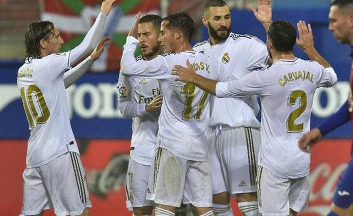Real Madrid'den farklı galibiyet