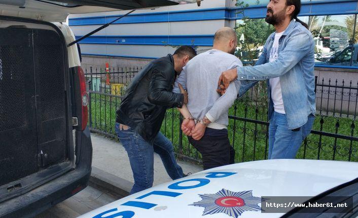 Polisten kaçtı, yakalanmaktan kurtulamadı