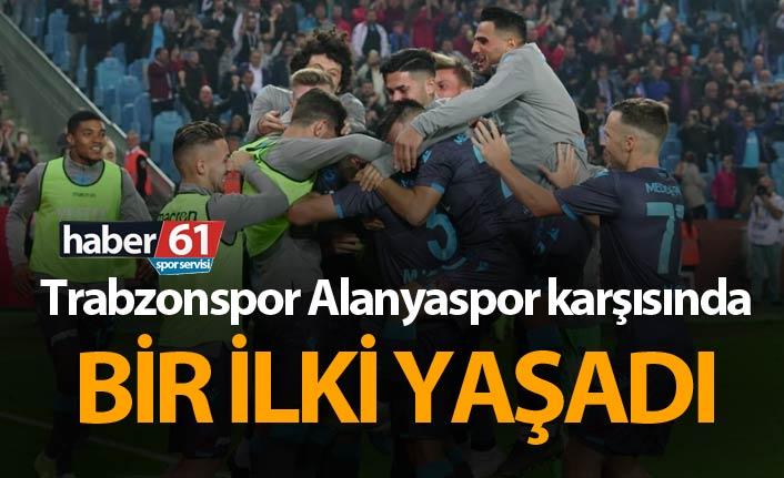 Trabzonspor Alanyaspor karşısında bir ilki yaşadı